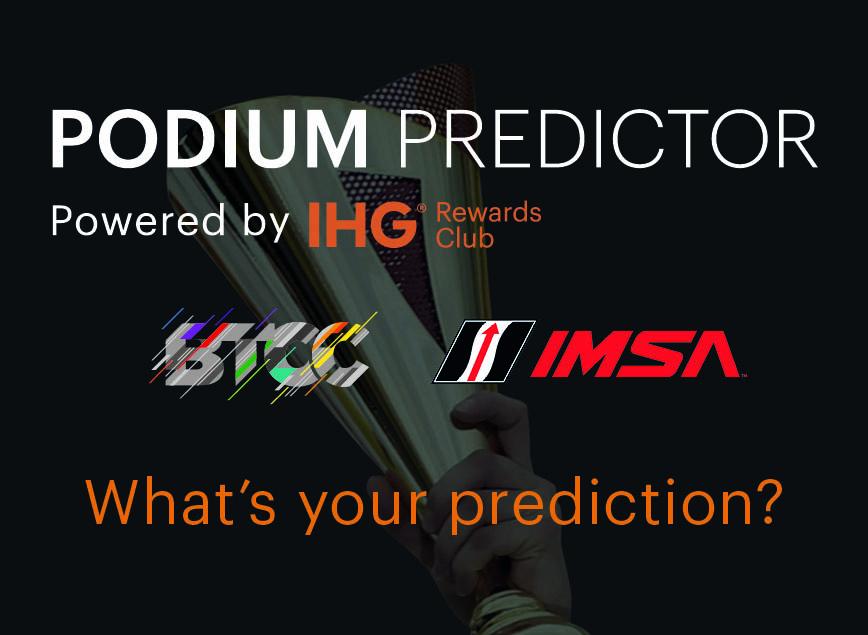 IHG Rewards Club Podium Predictor
